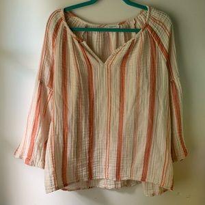 Beachlunchlounge soft cotton blouse